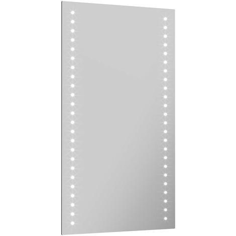 Mode Hadid LED illuminated mirror 700 x 500mm with IR sensor, demister & charging socket