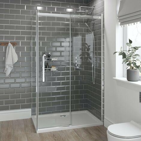 Mode Harrison 10mm easy clean shower enclosure 1200 x 800