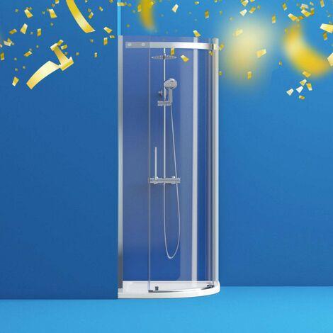 "main image of ""Mode Harrison 8mm easy clean quadrant shower enclosure 800 x 800"""