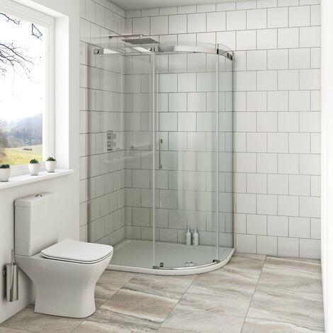 Mode Harrison 8mm right handed offset quadrant shower enclosure 1000 x 800