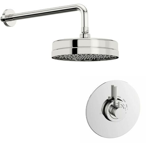Mode Harrison concealed thermostatic shower valve with wall shower set