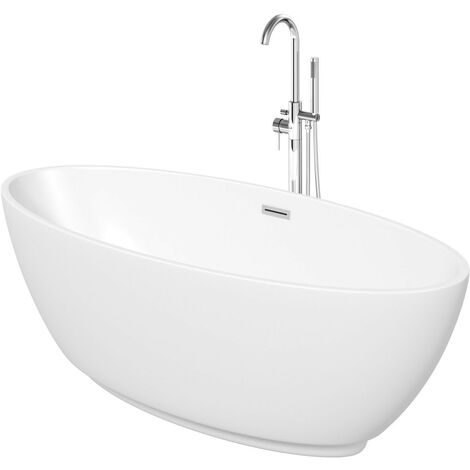 Mode Harrison freestanding bath and tap pack