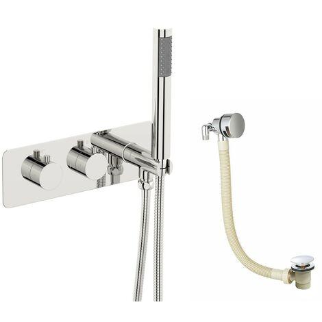 Mode Harrison thermostatic bath filler set