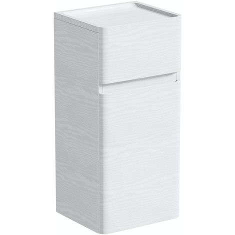 Mode Heath white wall hung cabinet 750 x 350mm