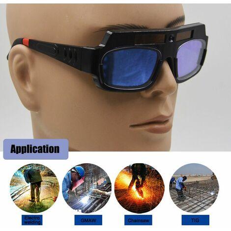 """main image of """"Mode Lunettes de soudeur solaire protection yeux changer de lumière automatique"""""""
