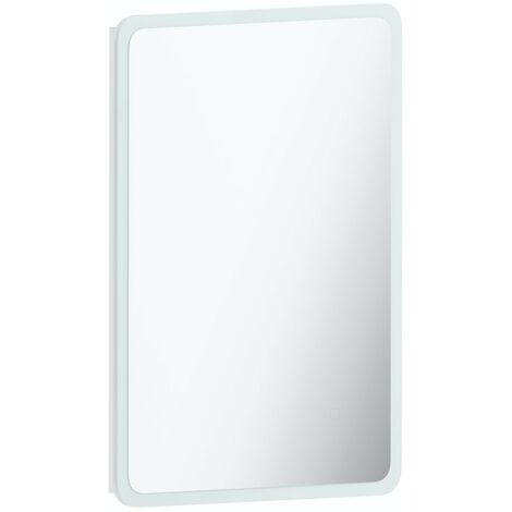 Mode Mayne curved LED illuminated mirror 500 x 700mm with demister