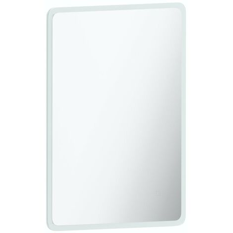 Mode Mayne curved LED illuminated mirror 600 x 800mm with demister