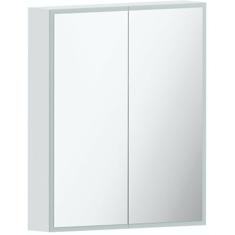 Mode Mayne LED illuminated mirror cabinet 700 x 600mm with charging socket