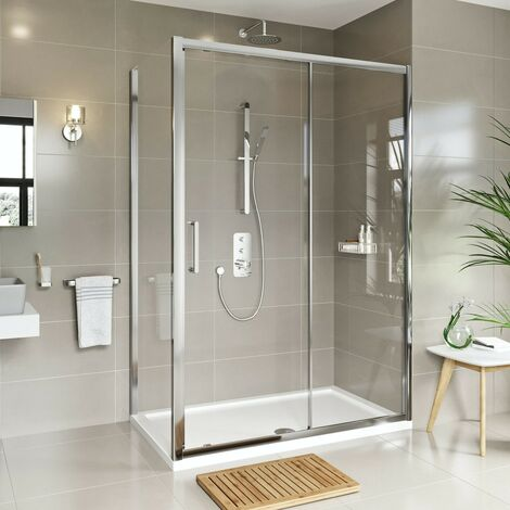 Mode Meier 8mm framed sliding shower enclosure 1200 x 800