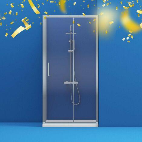 Mode Meier 8mm framed sliding shower enclosure 1600 x 700