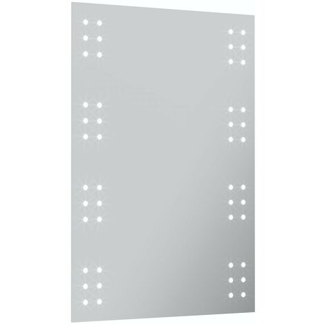Mode Muir battery powered LED illuminated mirror 700 x 500mm