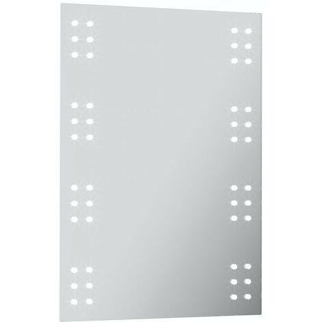Mode Radiant LED illuminated mirror 700 x 500mm with demister & charging socket