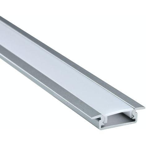 Mode Recessed aluminium profile 2.2m