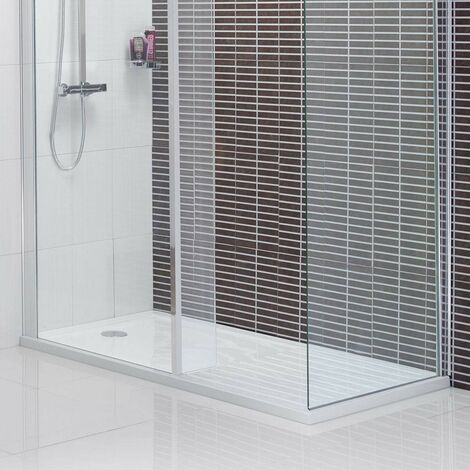 Mode rectangular walk in shower tray 1400 x 900