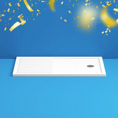 Mode rectangular walk in shower tray 1600 x 800