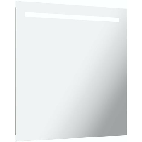 Mode Rossi under-lit LED illuminated mirror 600 x 600mm with demister