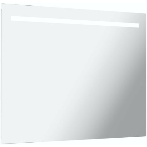 Mode Rossi under-lit LED illuminated mirror 600 x 800mm with demister