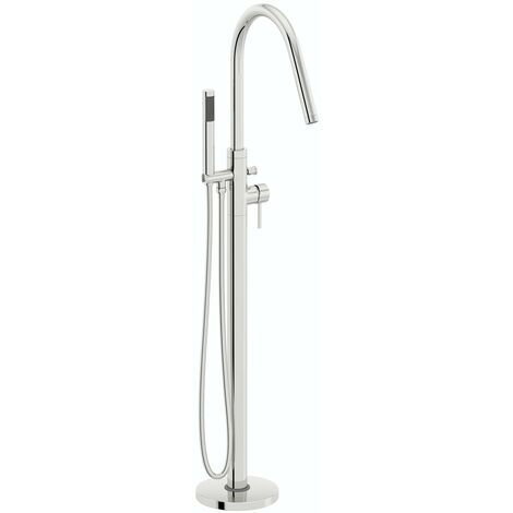 Mode Spencer freestanding bath shower mixer tap
