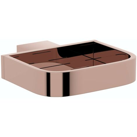Mode Spencer rose gold soap dish
