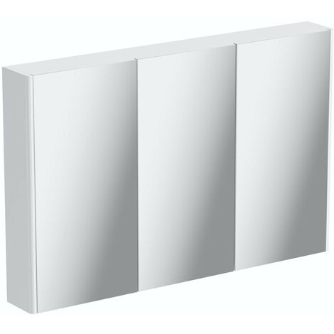 Mode white mirror cabinet 650 x 1000mm