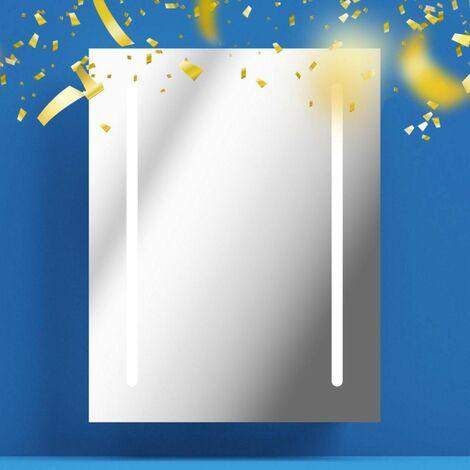 Mode Wyatt LED illuminated mirror 500 x 390mm with demister