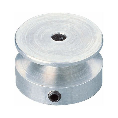 Modelcraft K.-Sch. 20 / 2,3 Aluminium V-Belt Pulley 20mm/2.3mm Bore