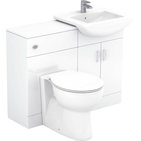 Modena 1050mm Vanity Unit Toilet Suite