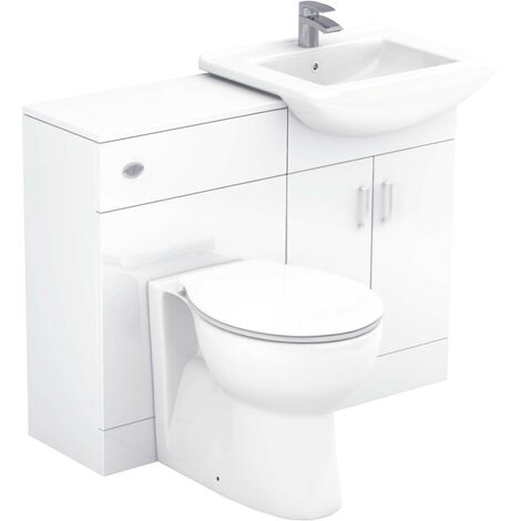 Modena 1150mm Vanity Unit Toilet Suite