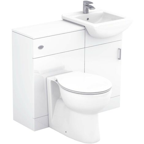Modena 950mm Vanity Unit Toilet Suite