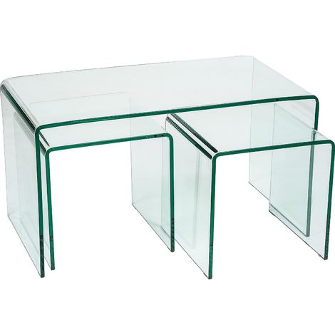 Modena Coffee Table [Clear Glass]