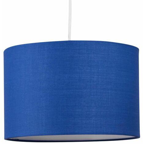 Modern 25cm Drum Shade Ceiling Light Shade Easy Fit Pendant