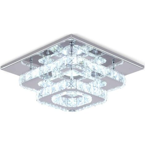 Modern 30cm 12W LED Crystal Ceiling lights chandeliers Aisle light, Cool white