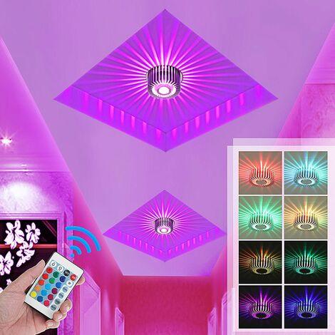 Modern 3W LED Ceiling Light Wall Sconce Warm White Light Fixture Decor Lamp