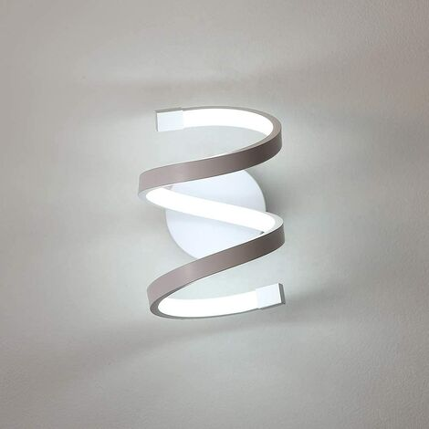 """main image of """"Modern Acrylic Wall Light, Led Wall Lamp Creative Design Indoor Wall Sconce White for Bedroom, Living Room 220V Cold White"""""""