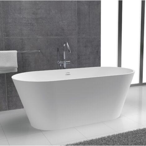 MODERN Bañera 170x85 exenta en Solid Surface
