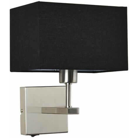 Modern bedside lamp Norte Nickel