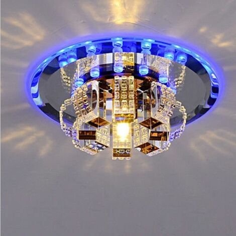 Modern Ceiling Lamp 3W LED Crystal Chandelier Ceiling Bedroom Hallway