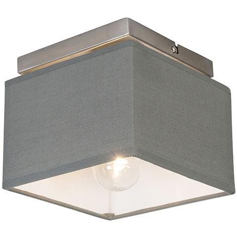"main image of ""Modern ceiling lamp gray - VT 1"""