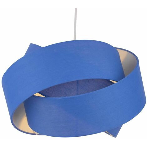 Modern Ceiling Light Shade Easy Fit Pendant Lightshade Layered Twist Design