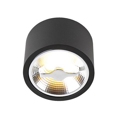 Modern ceiling spot black AR111 incl. LED - Expert