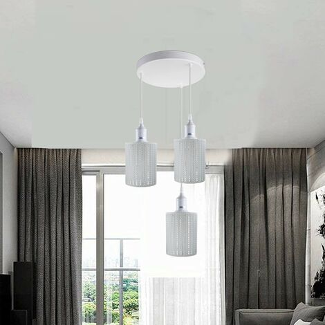 """main image of """"Modern Chandelier Light Shades White Cluster Ceiling Pendant Lampshade"""""""