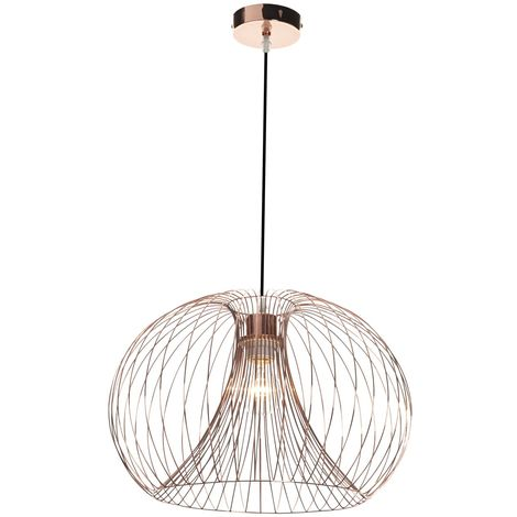 Modern Copper Metal Wire Lights - Table Lamp, Pendant, Shade Chandlier