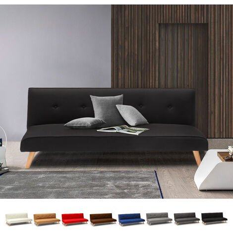 Modern Design Fabric Couch 2 Seater Sofa Bed for Living Room LARIMAR