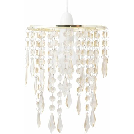 Gold & Amber Jewels Light Shade
