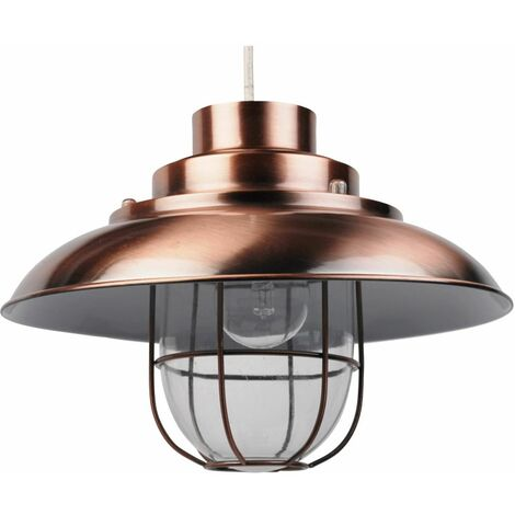 Modern Fishermans Style Ceiling Light Pendant Shades Light Lightshades