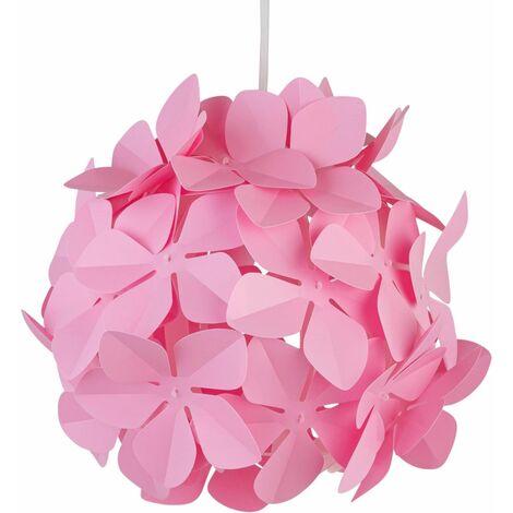 Modern Flower Ceiling Light Shade Easy Fit Pendant Girls Bedroom Light