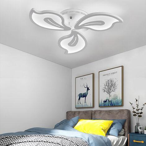 Modern Flower Shape LED Chandelier Ceiling Light , 5 Head Dimmable