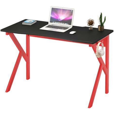 Modern Home Office Computer & Gaming Desk - Piranha Furniture Zorro - Red