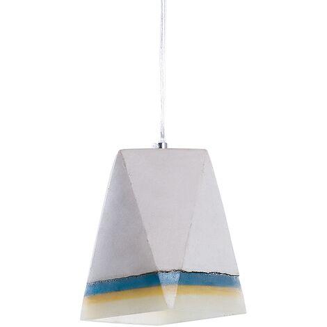 Modern Industrial Ceiling Light Pendant Light Concrete Shade Light Grey Mabel
