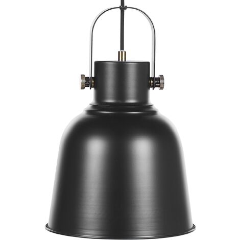 "main image of ""Modern Industrial Pendant Lamp Kitchen Lighting Metal Black Haast"""